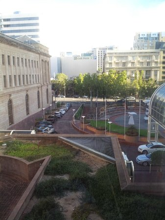 InterContinental Adelaide: Great view from Classic room