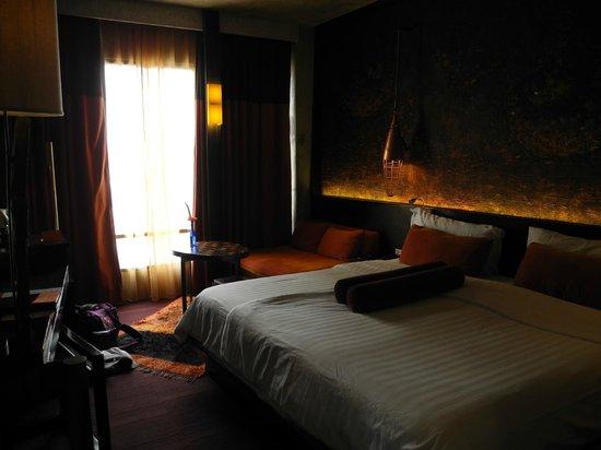 Siam@Siam Design Hotel Bangkok: view over our room