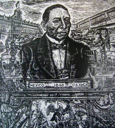 La Casa de Mis Recuerdos B&B: Benito Juarez, Oaxaca's beloved son who became President of Mexico