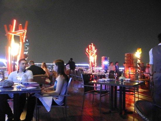 Siam@Siam Design Hotel Bangkok : the Beautiful , windy , and stylish roof top bar
