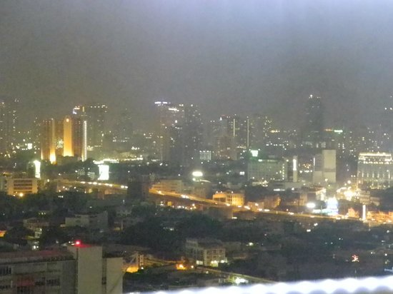 Siam@Siam Design Hotel Bangkok : view from the roof top restaurant