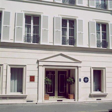exterior picture of hotel de suede st germain paris tripadvisor. Black Bedroom Furniture Sets. Home Design Ideas