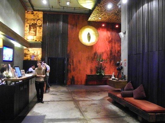Siam@Siam Design Hotel Bangkok: lobby at the hotel