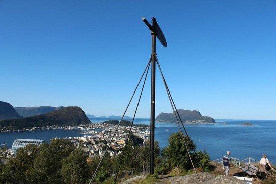 Fjellstua Viewpoint: Верхняя точка Акслы