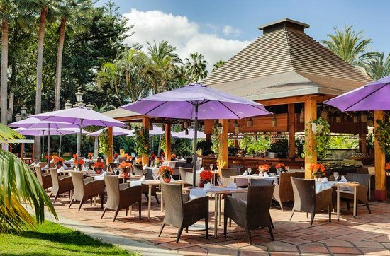 Hotel Botanico & The Oriental Spa Garden: Restaurante Palmera Real