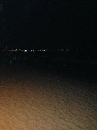 Night life in Cabarete Beach