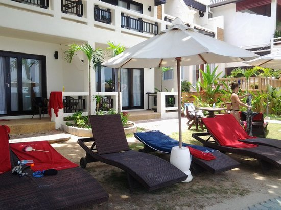 Crystal Bay Beach Resort : sea front de luxe