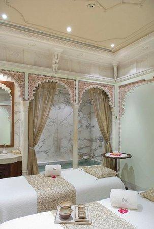 Taj Lake Palace Udaipur: Jiva Spa - Couple Massage Room
