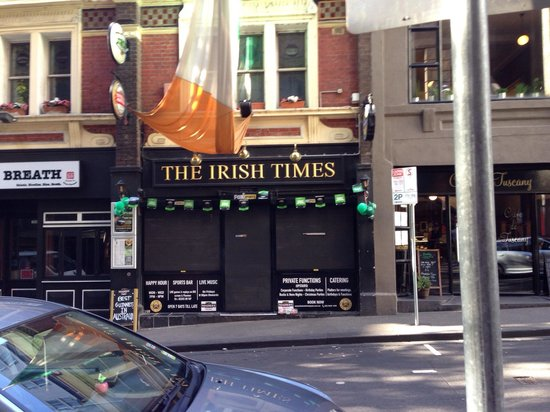 The Irish Times Pub Melbourne