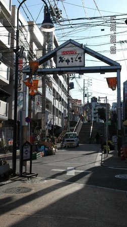 Annex Katsutaro : Entrance to Yanaka Market as you walk to Ryokan.