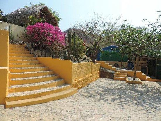Casa Los Cerros: Acceso casa