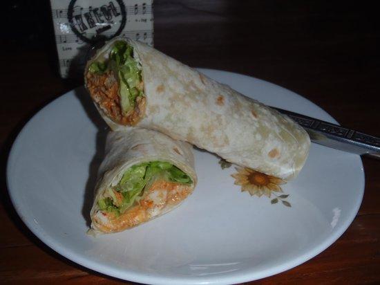 Kreol Kitchen: chicken tandoori wrap