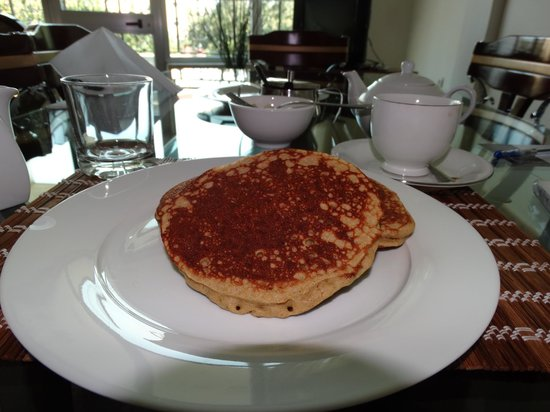 GT Guest House & Apartments: Delicious, Gluten Free Pancakes!!