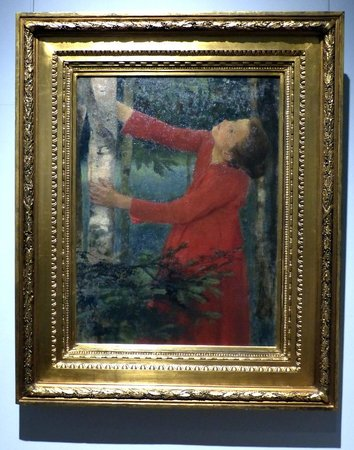 Galerie nationale hongroise : Birdsong by Karoly Ferenczy