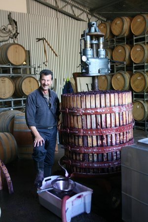 Cowaramup, Avustralya: Red Winemaking, Robert & Basket Press