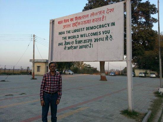 Wagah Border: At Wagha Border