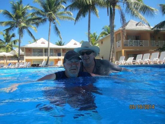 Grand Bahia Principe San Juan : Two brothers at the pool