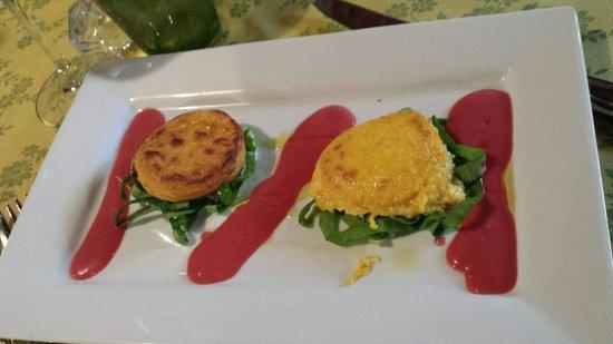 Osteria Pasta e Vino: Sformatini di carota