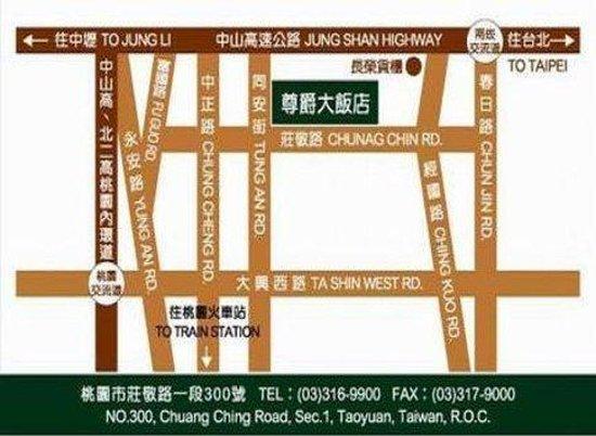 Monarch Plaza Hotel: map