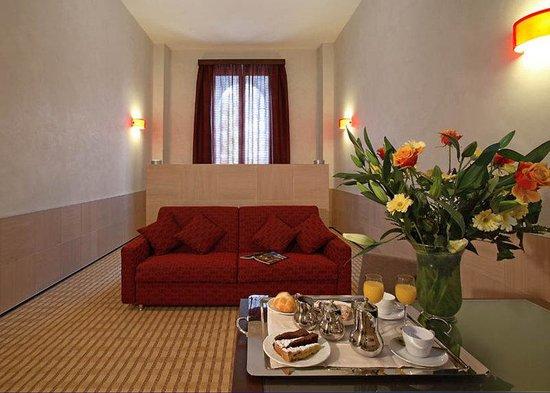Kolbe Hotel Rome : Junior Suite/Family Room