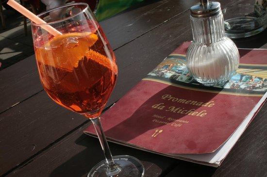 Hotel Promenade : Immer etwa Vitamine im Glas