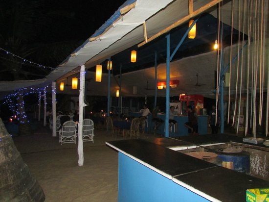 Cafe Blue Hotel : Restaurant