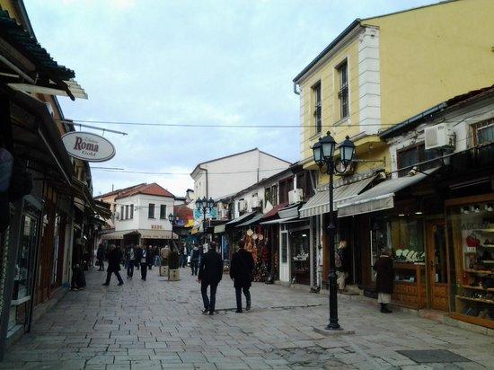 Old Bazaar, Skopje: сама улочка