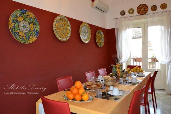 Abatellis Luxury: Sala Colazioni