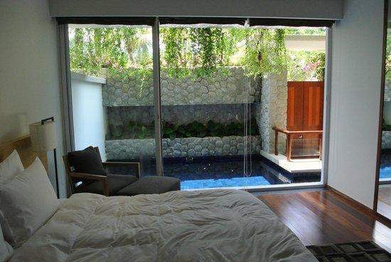 The Chava Resort: Master bedroom/plunge pool