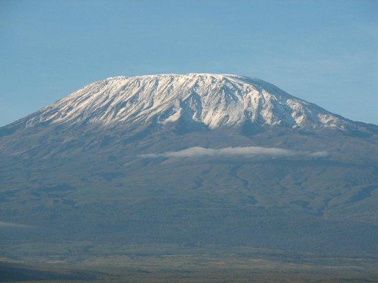 Amboseli Sopa Lodge: гора