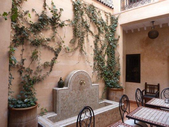 Riad Marrakiss : Nel patio