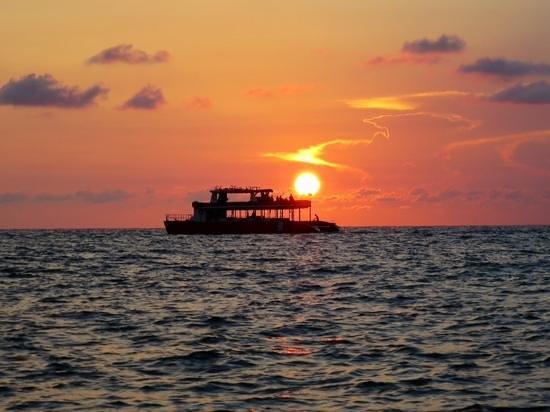 Paradee Resort & Spa Hotel: Sonnenuntergang