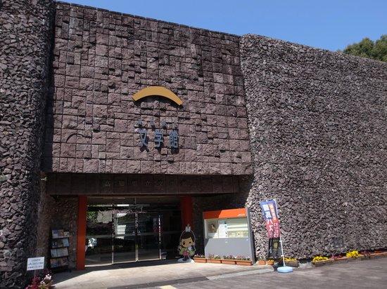 Kochi Literary Museum : 正面入口