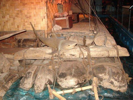 """The Kon-Tiki Museum : Плот """"Кон-Тики"""""""