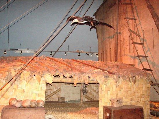 "The Kon-Tiki Museum : Тростниковый навес на ""Кон-Тики"""