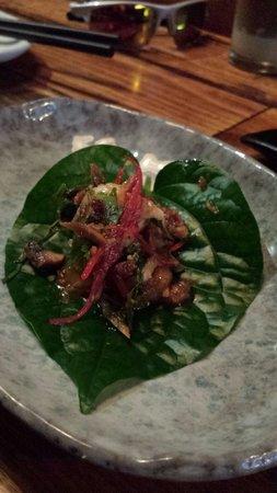 Rice Paper Scissors: Betel leaf