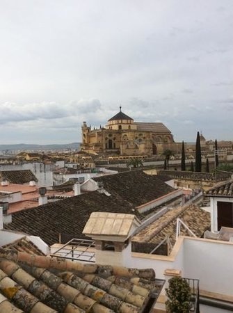 Balcon de Cordoba : view from the terrace, nice even on a questionable spring day