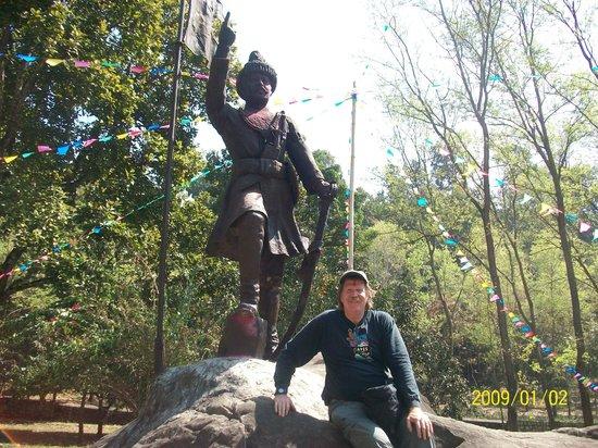Eco Homestay: Statue of King Prithivi Narayan Shah`