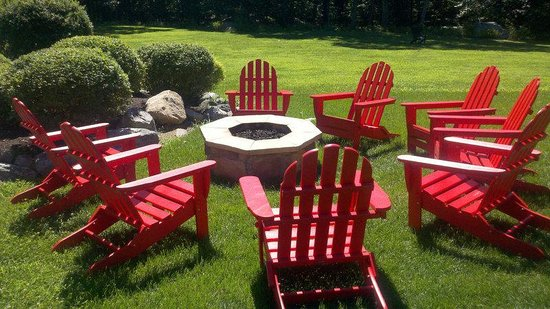 Minnewaska Lodge : Firepit