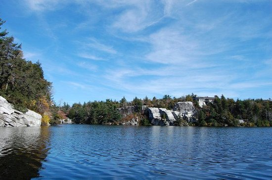 Minnewaska Lodge: Lake Minnewaska