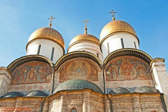 Moskauer Kreml: Assumption Cathedral - Kremlin