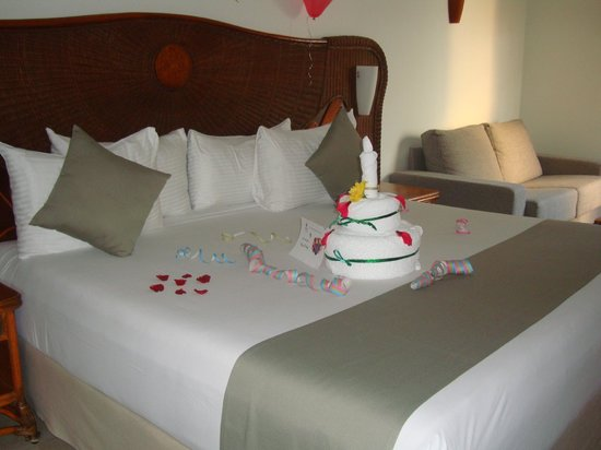 Sandos Caracol Eco Resort: Birthday welcome