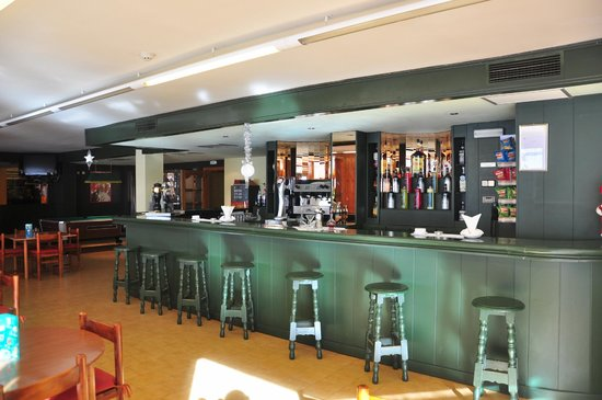 St Gothard Hotel : barra bar