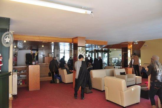 St Gothard Hotel : salon