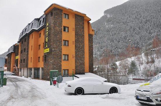 Hotel Sant Gothard: fachada