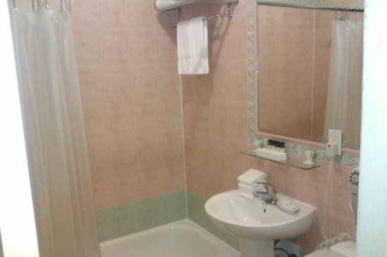Amsterdam Court Hotel: salle de bains