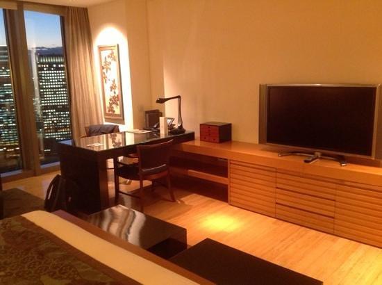Mandarin Oriental, Tokyo: Great work space