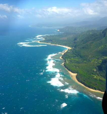 "Jack Harter Helicopters - Tours : site of Bali Hi from ""South Pacific"""