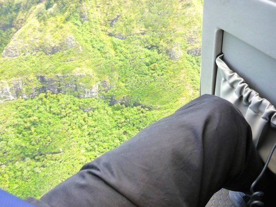 Jack Harter Helicopters - Tours : Seated close to edge