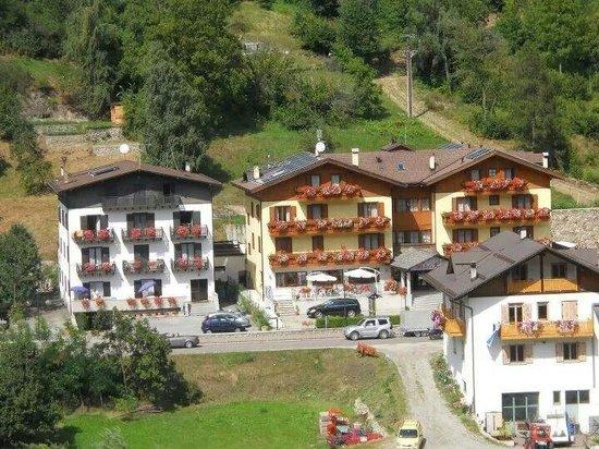 Hotel Pezzotti visto dal campanile